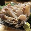 料理メニュー写真北海道産 活ほっき貝の刺身