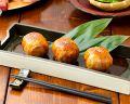 料理メニュー写真海老と洋野菜のヘルシーサラダ