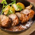 料理メニュー写真■厚切りやわらか~ローストポーク