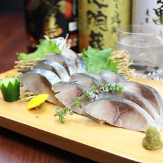活〆鯖のお刺身