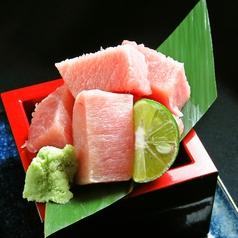 ぶつ切りサシミ(まぐろ)