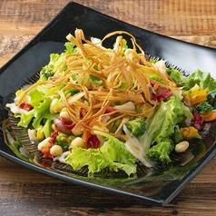十三品目の緑黄色野菜サラダ
