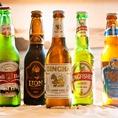 アジアンビールを各種ご用意!