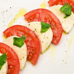 完熟トマトのカプレーゼ