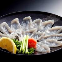 豊後鯖・豊後鯵・フグなど生け簀で泳ぐ旬の活魚が満載!