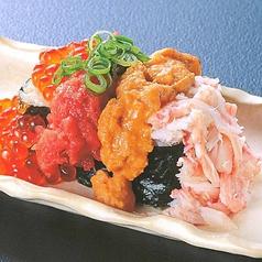 漁師ののっけ寿司