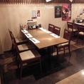 6人掛け×1テーブル