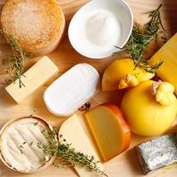 北海道各地より取りそろえたチーズ