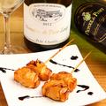 料理メニュー写真地魚とチーズの瞬間薫製串!! 1本