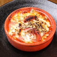 フルーツトマトとナスのチーズグラタン