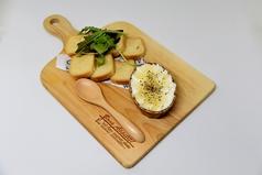クリームチーズの蜂蜜がけ