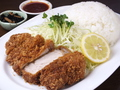 料理メニュー写真A定食 一枚肉のロース定番スタイル