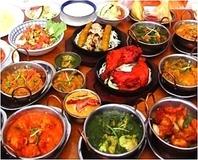 本格スパイスを使用!本場のインドを味わえる料理が充実