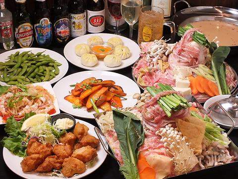 圧倒的なコスパボリューム♪水道橋にあるアジアン居酒屋でおいしい料理とお酒を!