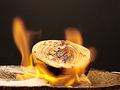 料理メニュー写真炎の焼き玉ねぎ