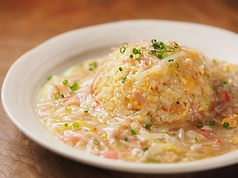 料理メニュー写真海鮮あんかけ炒飯