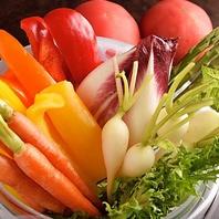 女性に人気の野菜メニューやデザートも多数♪