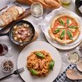肉料理以外にも、タパスやパスタ、ピザなど…普段のお食事にもお使い頂けます◎