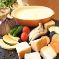 料理メニュー写真チーズフォンデュ(パン付) 大