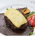 料理メニュー写真イタリアンハンバーグ(180g)