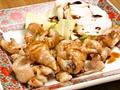 料理メニュー写真せせり(ねぎ塩(塩タレ)/塩)/砂肝(ねぎ塩(塩タレ)/塩)/とり皮(塩/タレ)