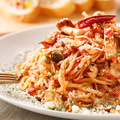 料理メニュー写真【お食事】 たっぷりチーズのトマトパスタ