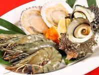 新鮮な魚貝類!!