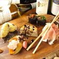 料理メニュー写真神戸市西区押部谷直送野菜の前菜5種盛り合わせ
