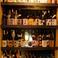 棚には大量のお酒をご用意してます。