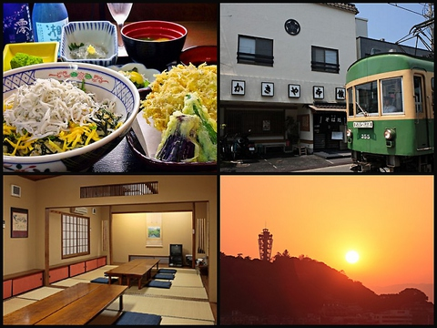 元祖しらす丼のお店!創業110年以上の老舗食堂。江ノ電、電車通りの和食料理店。
