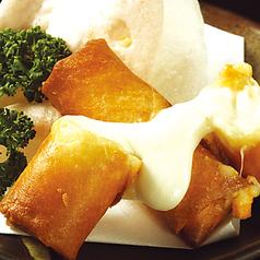 料理メニュー写真ぱりぱりチーズ春巻き