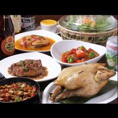 フィリピンレストラン ATE アテのコース写真