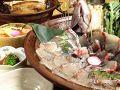 料理メニュー写真鯛しゃぶ/寄せ鍋(前日までに要予約)