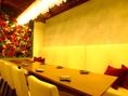 豪華な広々VIPルームは完全個室★周りの目を気にならないので、大人数で盛り上がりたい時や合コンにピッタリ!!