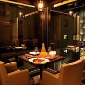 【デートや記念日に】カップル個室(2名様用)アニバーサリーコースをお二人でゆっくりお楽しみ頂ける空間をご準備致しております♪(2名様用完全個室)