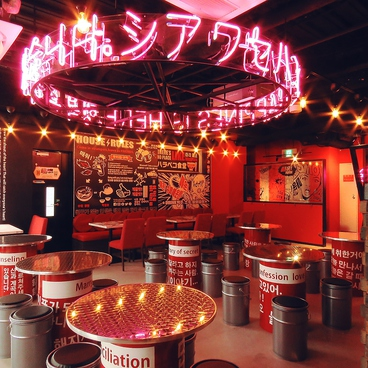 Korean Dining ハラペコ食堂 GEMSなんば店の雰囲気1
