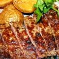 料理メニュー写真黒豚の岩塩焼き
