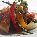 料理メニュー写真国産鶏のグリル シチリア海塩の香り