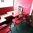 3階:4ッ名様のテーブル席もたくさんあります!女性のお客様も多数来店していますよ!