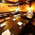 最大20名様用個室!開放的な空間は宴会にぴったり☆