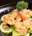 料理メニュー写真海老マヨのカシューナッツ添え