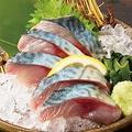 料理メニュー写真清水鯖刺身