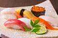 料理メニュー写真おまかせ寿司七点盛り