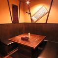 人気のいろり純和個室空間!!大人気の為、ご予約はお早めにお長いします!!