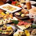 看板メニューが楽しめる贅沢な宴会コースは5000円から♪ご予算やシーンに合わせた宴会プランをご用意しております。お気軽に店舗までお問い合わせください!