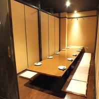 本町駅の宴会はゆったり落ち着ける和の個室空間居酒屋!