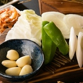 料理メニュー写真野菜焼き単品