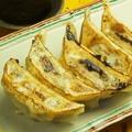 料理メニュー写真もちもち肉餃子 (国産野菜と豚肉のみ使用)