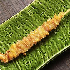 料理メニュー写真とり皮串【タレor塩】