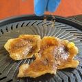 料理メニュー写真上かわスパイス焼き ジーパイ風!